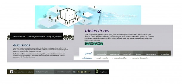 Site inicial.